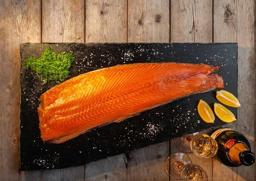 Sliced Smoked Salmon image