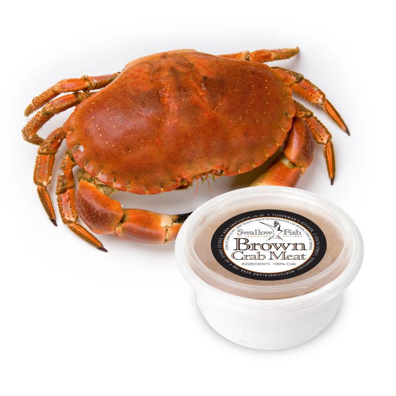 Hand Picked Brown Crab Meat image