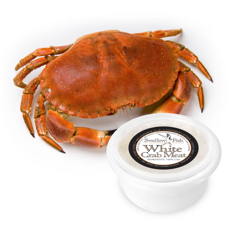 Hand Picked White Crab Meat image